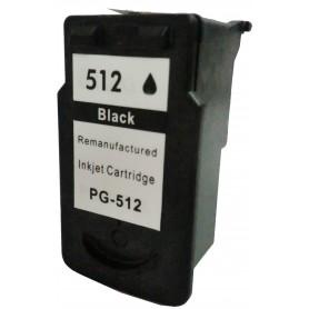 Cartucho sustituto Canon Negro PG512, reemplaza al PG-512 BK, Cartucho de alta capacidad