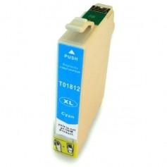 EPSON 1812 Cyan cartucho sustituto, reemplaza al T1812 y T1802 de alta capacidad 18XL