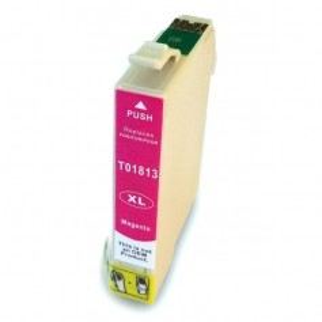 EPSON 1813 Magenta cartucho sustituto, reemplaza al T1813 y T1803 de alta capacidad 18XL