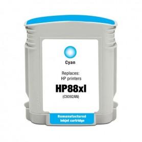 HP 88XL Cian cartucho compatible, reemplaza al C9391AE, 28ml de capacidad