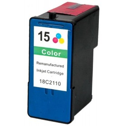 Lexmark 15 Color cartucho reanufacturado, reemplaza al Nº 15 18C2110E