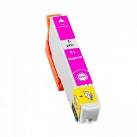 EPSON 24XL Cian cartucho compatible, reemplaza al T2422 y T2432 de alta capacidad