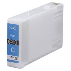 EPSON 79XL Cian cartucho compatible, reemplaza al  T7892, T7902, T7912 de alta capacidad